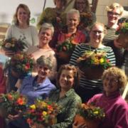 sociale activiteiten delfgauw bloemschikken herfst